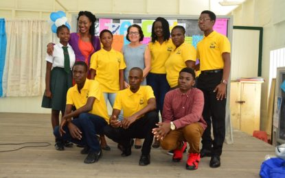 """Carve your own path and hold on to your dreams""  -First Lady, Mrs. Sandra Granger at R.E.A.C.H. school's initiative"