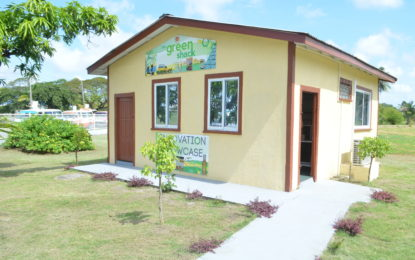 IAST's green shack to  be launched at UG soon