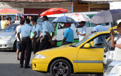 Increased police presence helping to deter crimes at Stabroek area