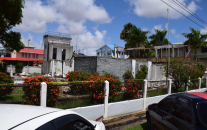 Construction to start soon on new Foreign Service Institute- Ramphal House demolished