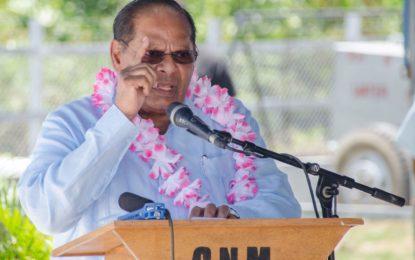 Sugar would not be closed – Prime Minister Nagamootoo