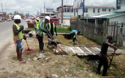 Region Three residents join CORE in clean-up campaign