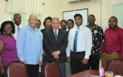 Minister Norton meets with Christian Community