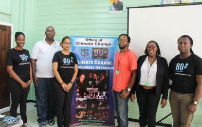 Climate change awareness begins in schools