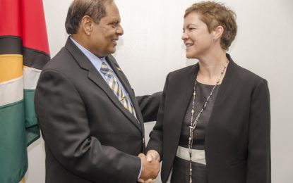 UK assures project support for Guyana