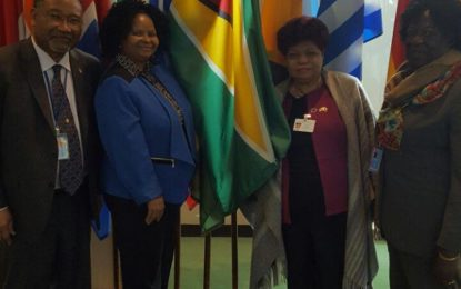 Minister Ally calls on CARICOM countries to fulfill commitments towards women