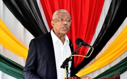 President calls on EU Parliament to support Guyana's removal from money-laundering blacklist