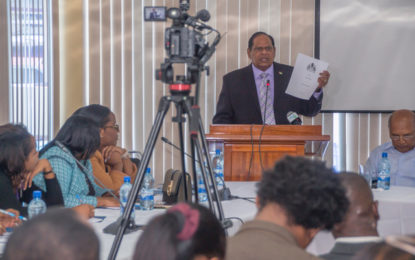 """We need to do better"" – PM Nagamootoo tells inaugural Govt PR Conference"