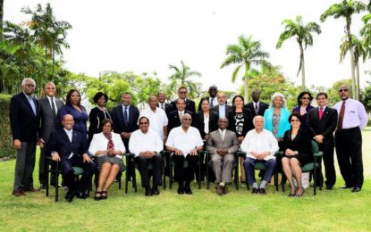 Agenda of Guyana's diplomatic envoys overseas must be guided by national interests  -President Granger tells Heads of Missions