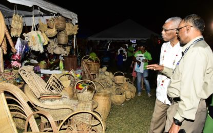 Diversification and political cooperation key to Region Two economic development  -President Granger at Essequibo Expo