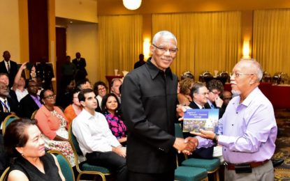 Understanding colonial era important to social cohesion  -President Granger at Guyanese-European heritage book launch