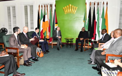 President meets with UNSG's Personal Representative on border controversy