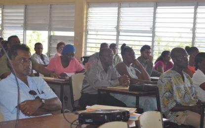 Region Four NDCs receive training