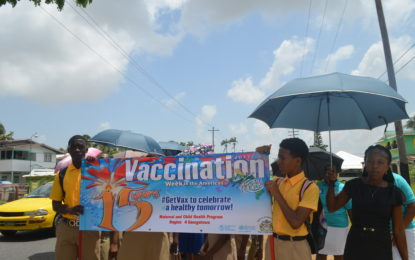 Immunisation's importance underscored – at 15th Vaccination Week in Americas