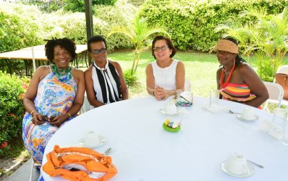 First Lady joins WAD for Easter Hat Show and Brunch