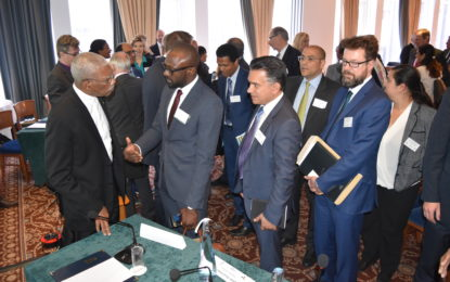 British investors agree that Guyana is 'best investment destination' – President Granger wraps up day two of UK visit