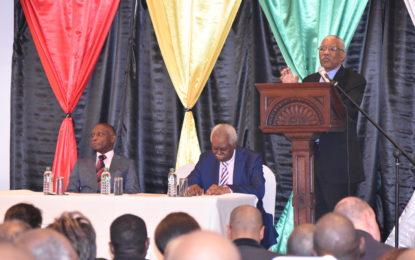 Diaspora can support economic and social development in Guyana– President tells diaspora in London