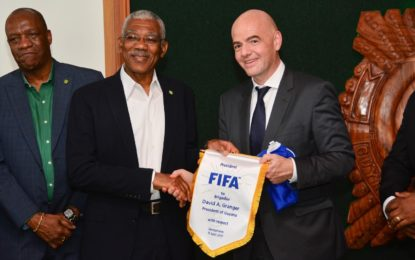President meets with FIFA Head