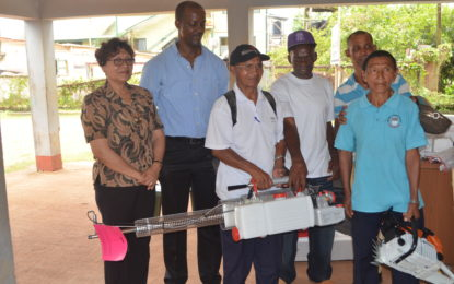 Mabaruma villages receive close to $8M in capital equipment