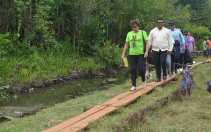 Minister Garrido-Lowe holds outreach in Mabaruma communities
