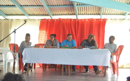 Baramita residents get to raise concerns with Vice President Allicock
