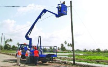 Several communities to soon benefit from street lights