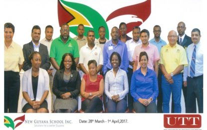 Ministry of Natural Resources sponsors University of Trinidad and Tobago-administered Basic Petroleum Technology short-course for its staff and those of other Government Ministries and Departments