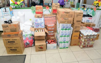 CIOG donates food supplies to flood affected Regions