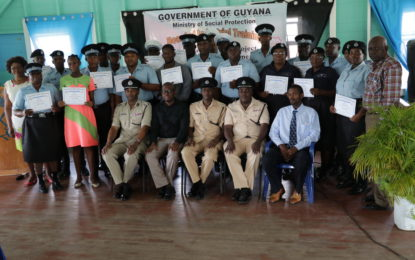40 police officers benefit from skills training