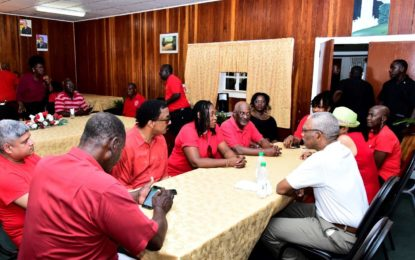 Government committed to improving quality of life for all workers– President Granger
