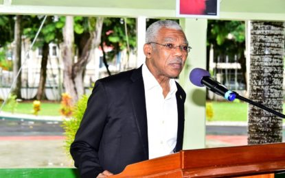 Green Multi-stakeholder Steering Committee reactivated  -President Granger says it's a demonstration of Government's commitment to consultation