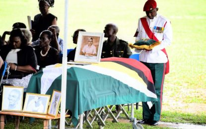 President attends funeral service of the late Norman Chapman