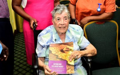 Sister Noel Menezes launches new book on Guyana at age 87