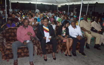 Region Seven residents urged to support gov't' s work – during independence anniversary celebration