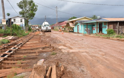 Residents advised to remove properties that are impeding Mahdia road works