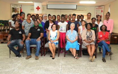 First Aid training for 'Caregivers for the Elderly' programme graduates commences