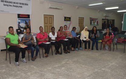 'Care for the Elderly' graduates complete First Aid training