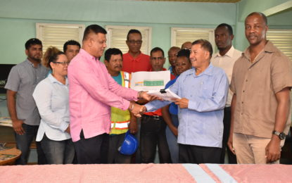 Contract signed for new hinterland scholarship students' dorm
