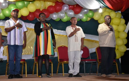 Mahdia on the rise- Minister Broomes- as she joins Region Eight's Independence celebrations