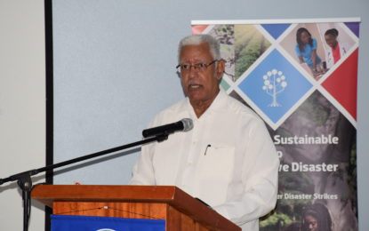 Holistic framework needed to combat climate change – Minister Holder tells regional training workshop