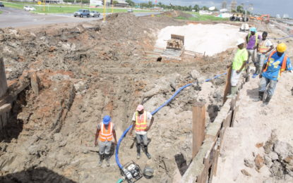 Works on Kitty sinkhole to be completed next month