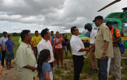 Gov't continues to work to restore normalcy to Region Eight residents