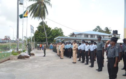 Region Four flag raising -AG stresses importance of a constitution to an independent nation