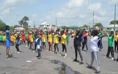 Various schools participate in 'World Challenge Day'