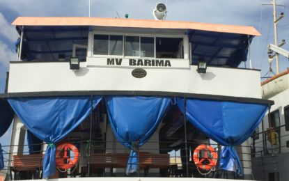 MV Barima makes 'historic' shortened trip – North-West to receive increased service
