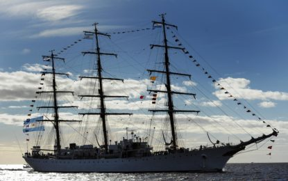 GDF Officer on first ever Atlantic voyage with Argentine counterparts