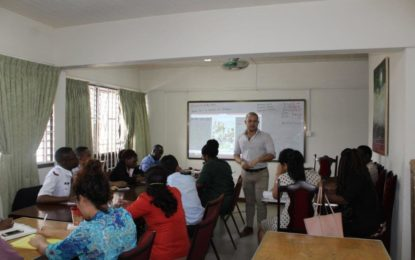 Fourth Edition Spanish Language Course Underway for Public Servants