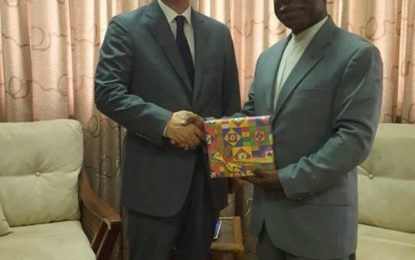 Minister of Foreign Affairs meeting with the Korean Ambassador