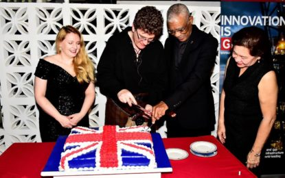 UK's security reform project will significantly improve national crime-fighting policies  -President Granger at reception in honour of Queen's birthday