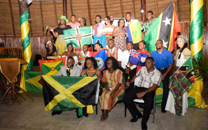 Caricom Youth Ambassadors in Guyana see One people, One Caribbean